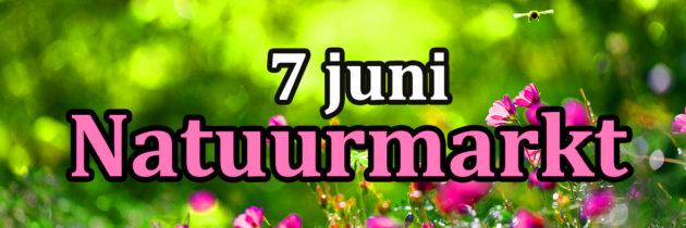 Komende zondag Natuurmarkt!